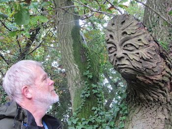 Christopher and the Mud Lane Green Man